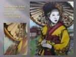 graham high school teacher milton hall grade 10 danielle johnson geisha drawing
