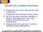 activex dll creation summary2
