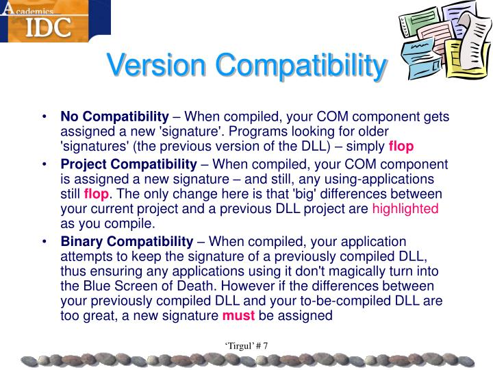 Version Compatibility