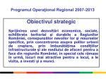 programul opera ional regional 2007 20131