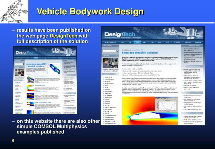 Vehicle Bodywork Design
