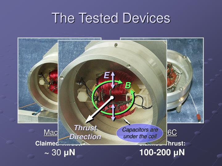 The Tested Devices