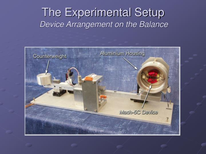 The Experimental Setup