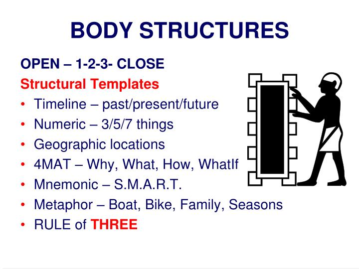 BODY STRUCTURES