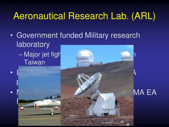 Aeronautical Research Lab