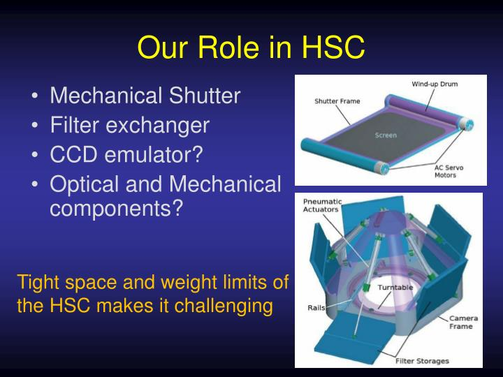 Our Role in HSC
