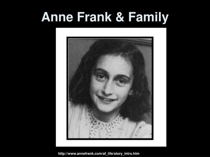 Anne Frank & Family