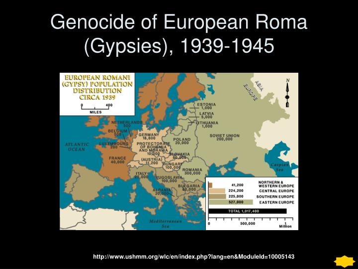 Genocide of European Roma (Gypsies), 1939-1945