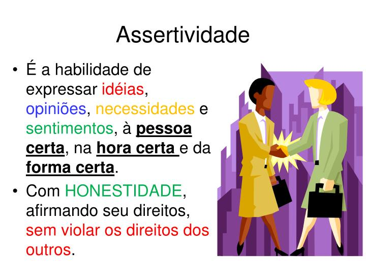 Assertividade