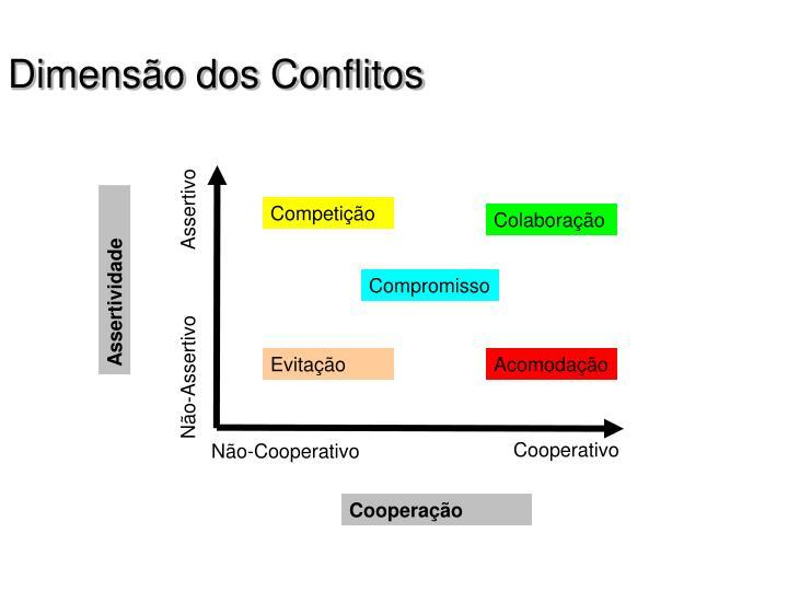 Dimensão dos Conflitos