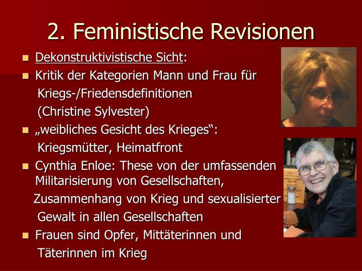 2. Feministische Revisionen