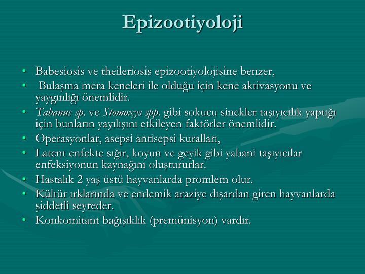 Epizootiyoloji