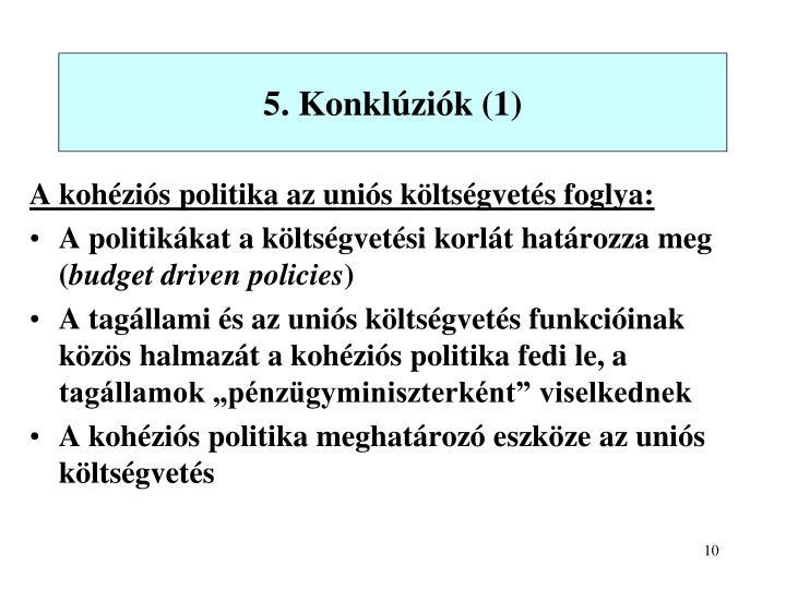 5. Konklúziók (1)