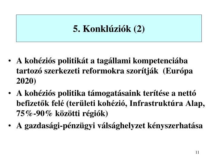 5. Konklúziók (2)