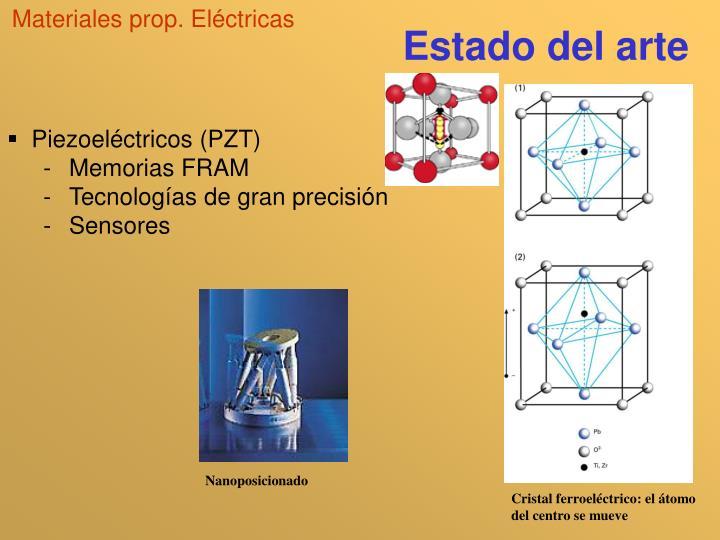 Materiales prop. Eléctricas