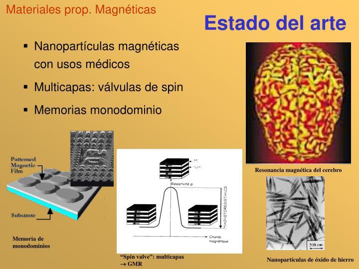 Materiales prop. Magnéticas