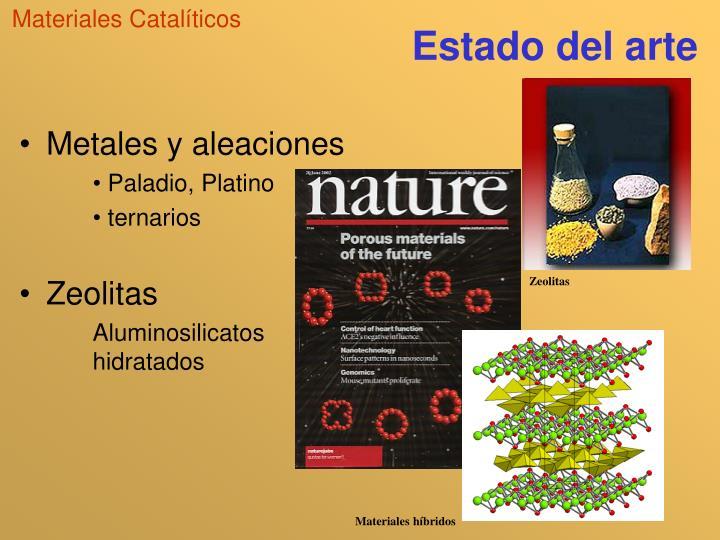 Materiales Catalíticos