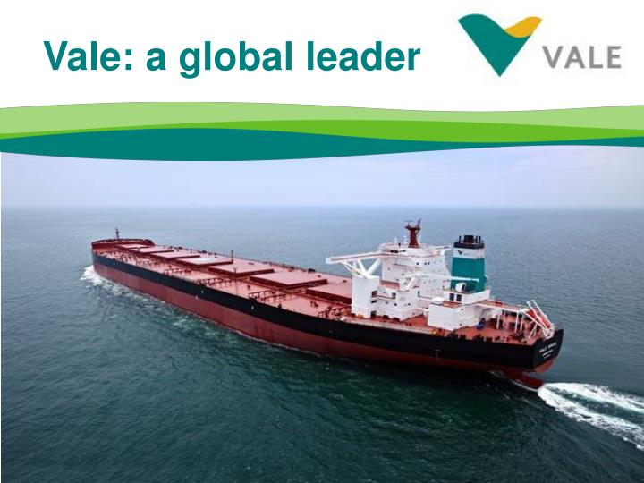 Vale: a global leader