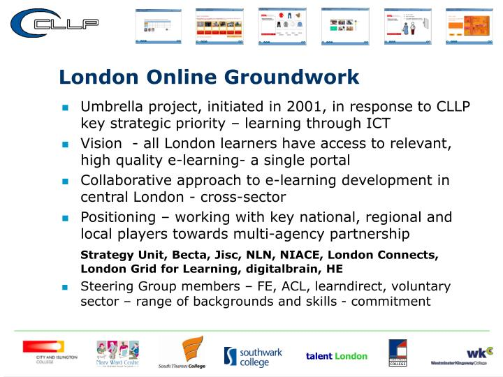 London Online Groundwork
