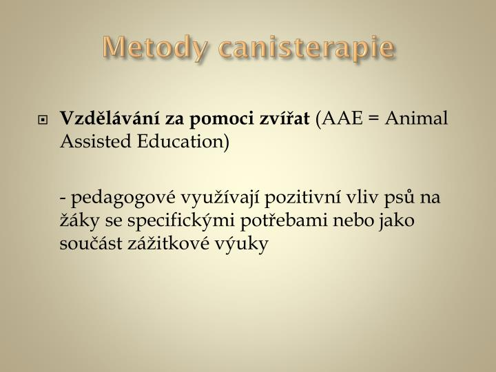 Metody