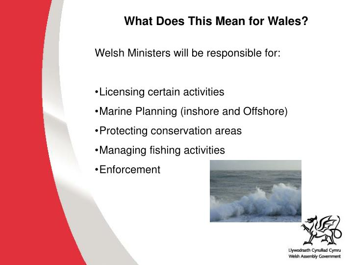What Does This Mean for Wales?
