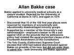allan bakke case