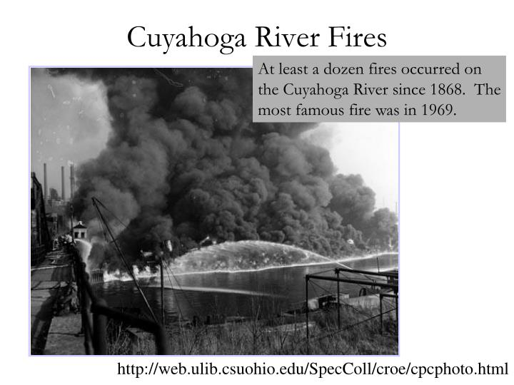 Cuyahoga River Fires