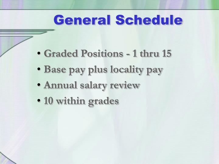 Graded Positions - 1 thru 15