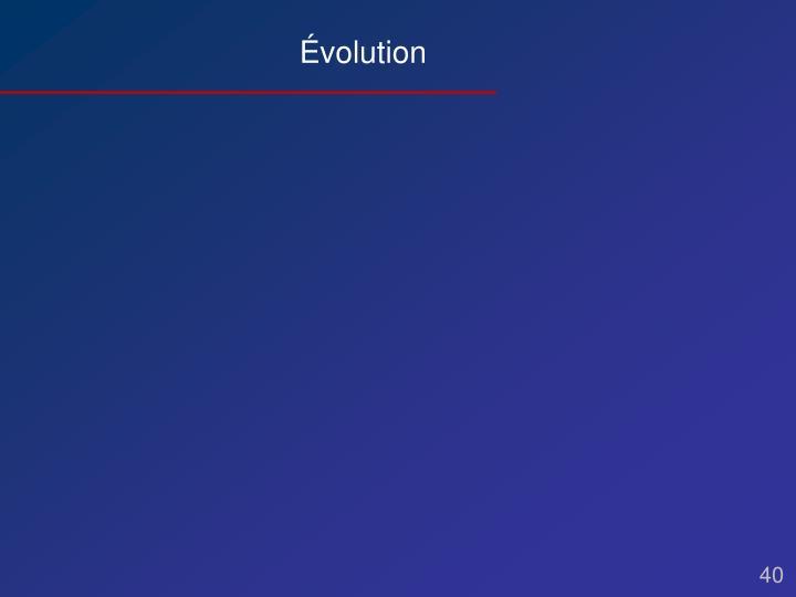 Évolution