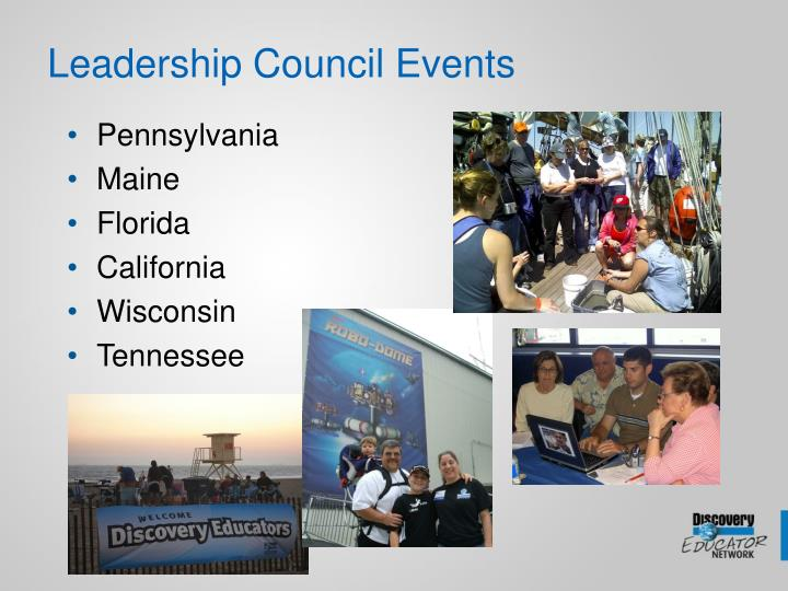 Leadership Council Events