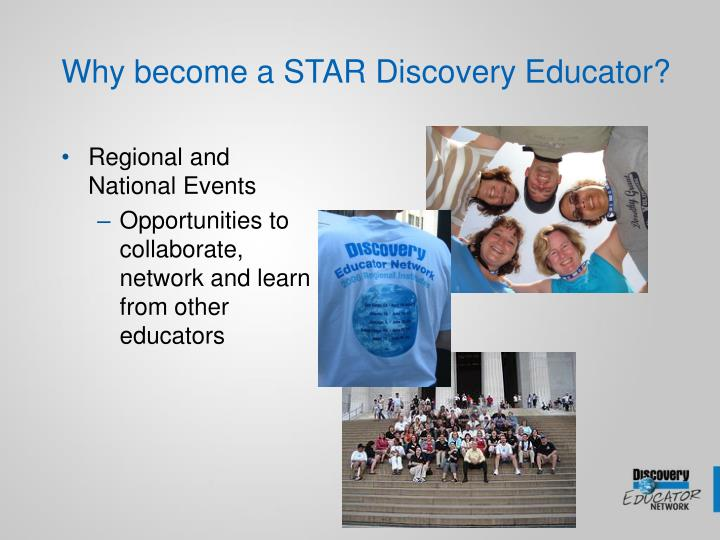 Why become a STAR Discovery Educator?