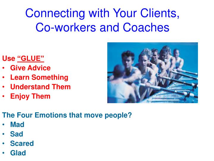 Connecting with Your Clients,