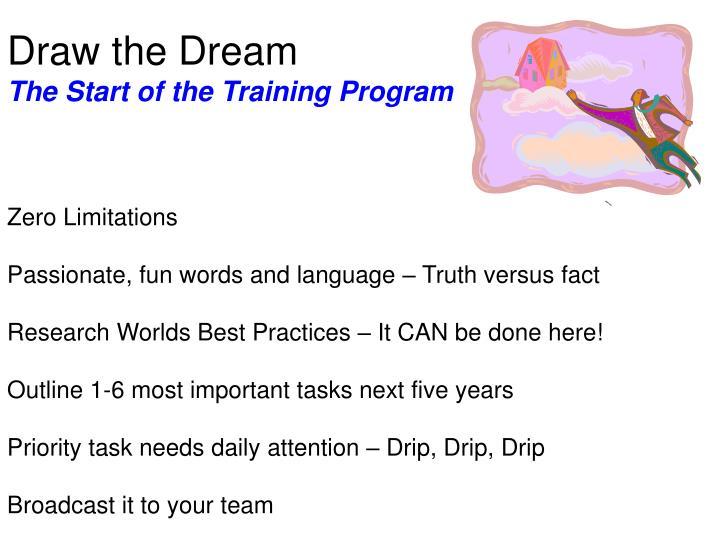 Draw the Dream
