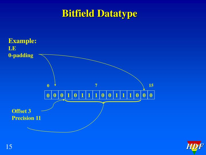 Bitfield Datatype