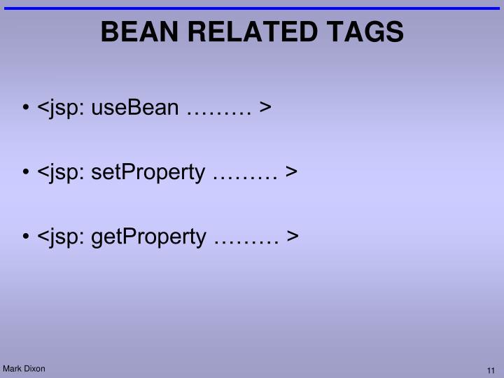 <jsp: useBean ……… >