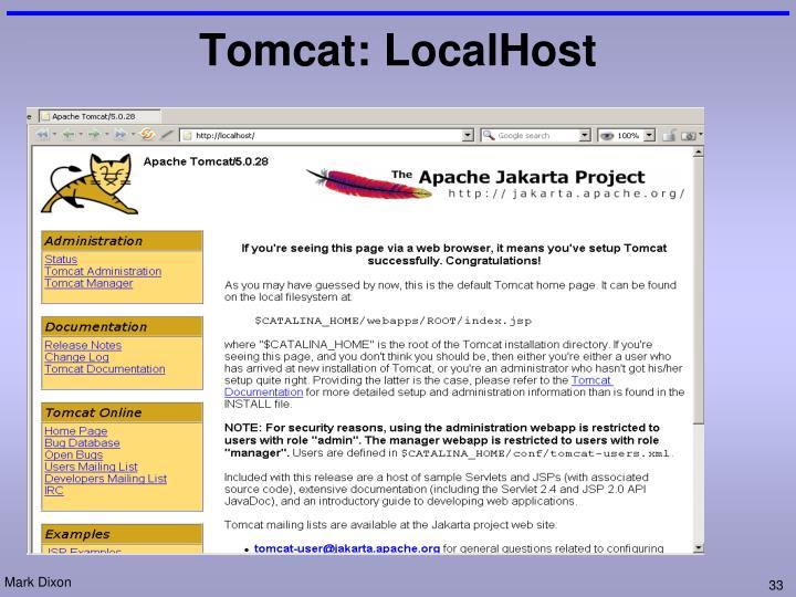 Tomcat: LocalHost