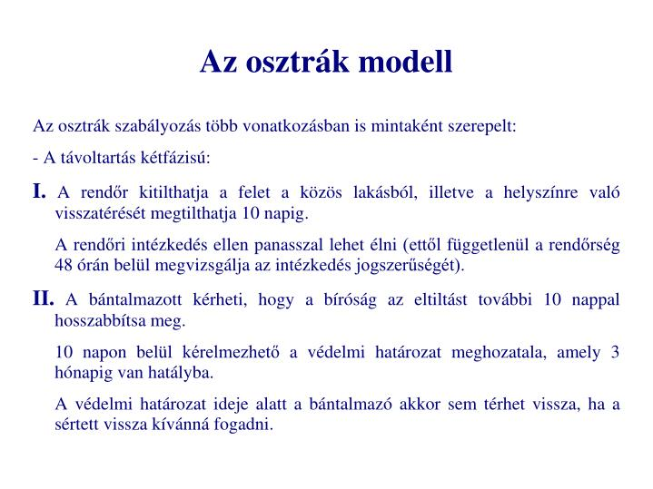 Az osztrák modell