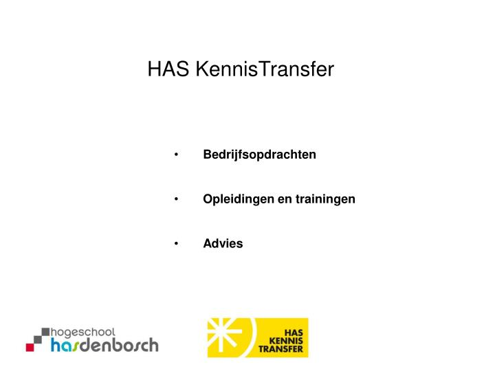 HAS KennisTransfer