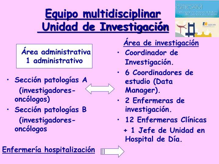 Sección patologías A