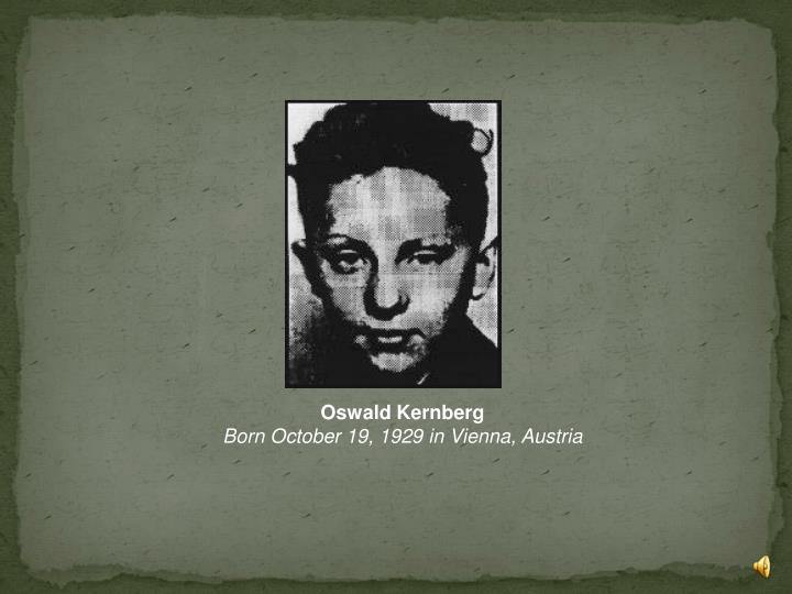 Oswald Kernberg