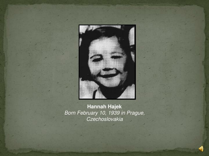 Hannah Hajek