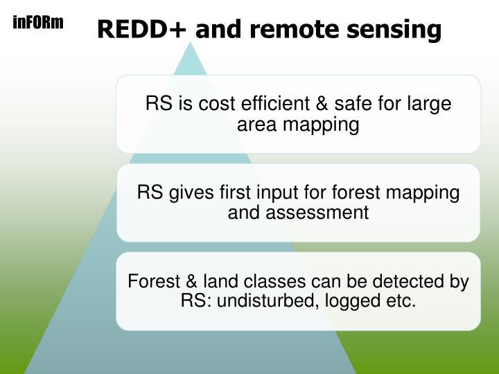 REDD+ and remote sensing