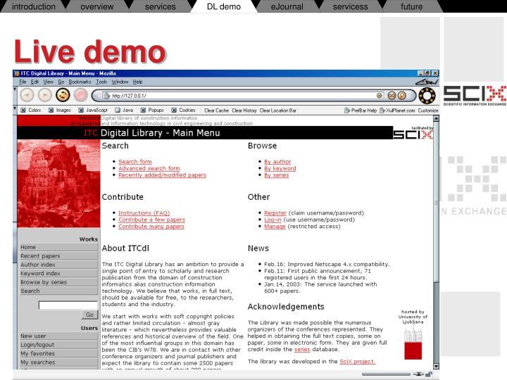 DL demo