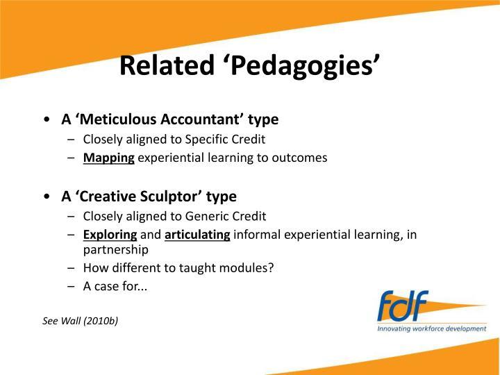 Related 'Pedagogies'