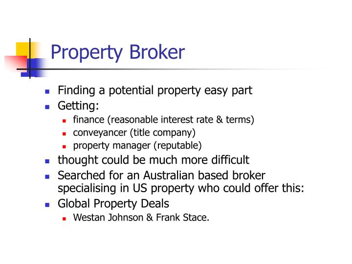 Property Broker