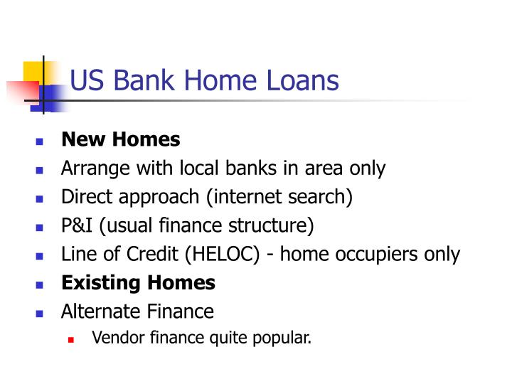 US Bank Home Loans
