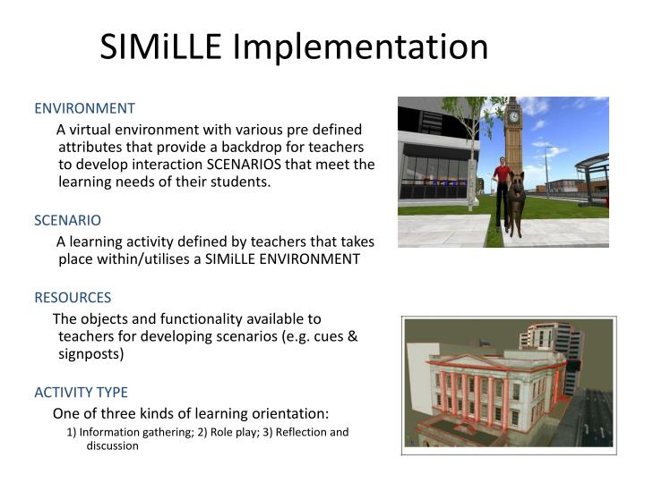 SIMiLLE Implementation
