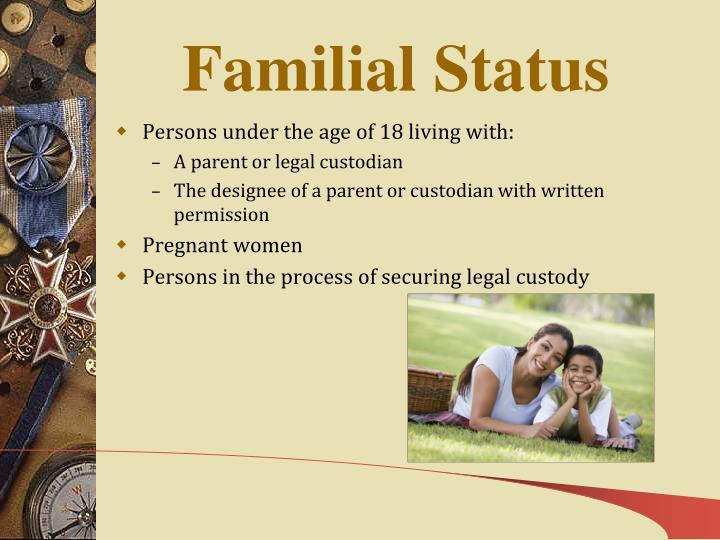 Familial Status