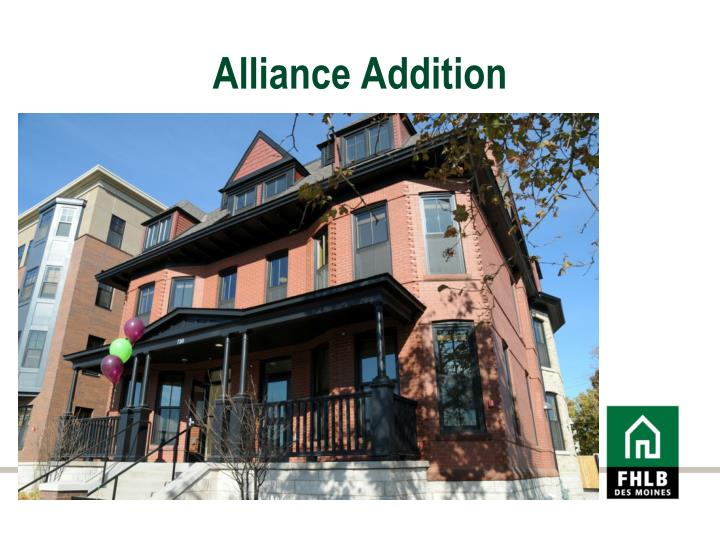 Alliance Addition