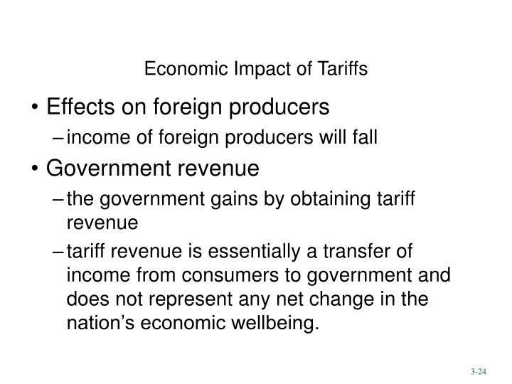Economic Impact of Tariffs